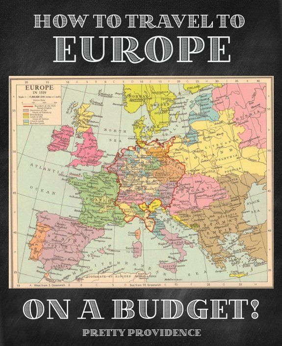 How to Travel to Europe on a Budget! One day I will get there..