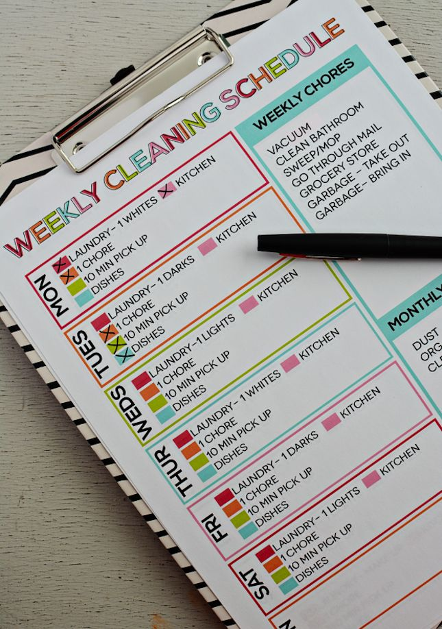 Tackle spring cleaning with this handy to-do list.