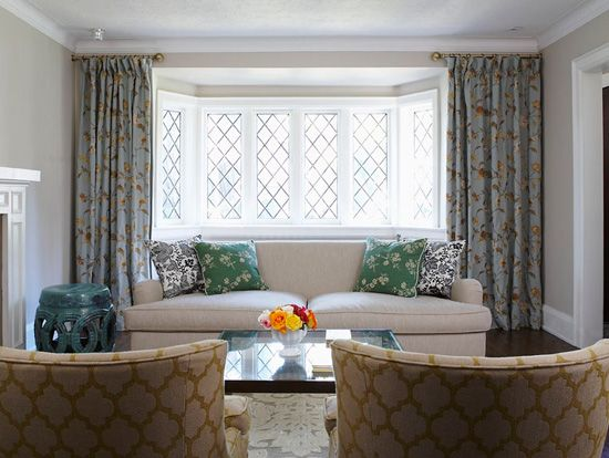 Living Room Bay Window Treatments | Living Room Window Dressing Bay Windows  Especially One As Wide Part 95