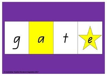 CVCe word builder. Great for letting your children explore building words using the 'Magic E' or 'Bossy E' rule.  https://www.teacherspayteachers.com/Product/CVCe-Word-Builder-3224254 Only $8 for the entire activity that can be used by one child or a whole class.