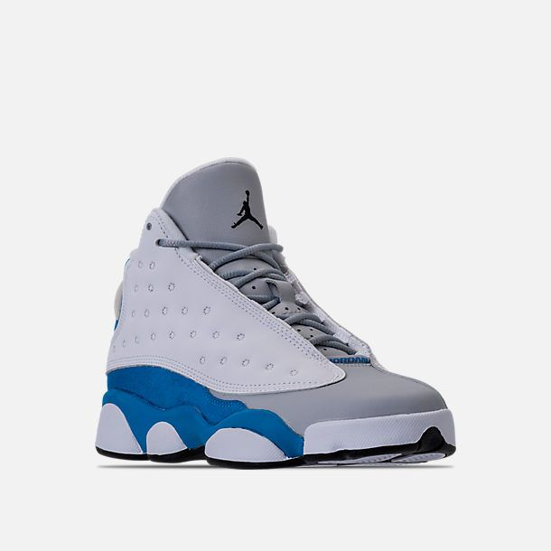 9089597e57cbc9 Three Quarter view of Girls  Grade School Air Jordan Retro 13 (3.5y - 9.5y) Basketball  Shoes in