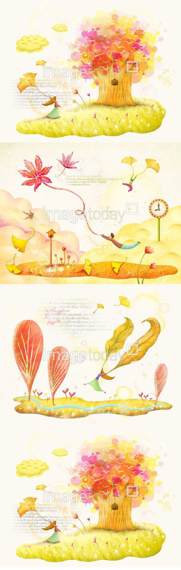 psd 가을 감성 계절 구름 꽃 나무 단풍 단풍나무 들판 백그라운드 사람 수채화 식물 여유 여자 옐로우 은행잎 초원 컨셉 페인터 autumn…
