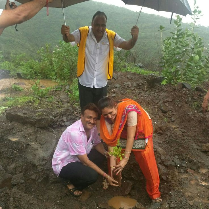 Thane West #LionsClub (India) planted 100 trees