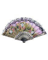 Amazon.com - Authentic Japanese Hand Fan - Silk Model -Ocean Wave!!! - Ceiling Fan Accessories