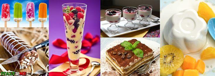 Итальянские десерты — рецепты, названия, фотографии