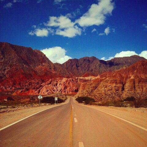 Ruta Nacional 68, Cafayate to Salta, Quebrada de las Conchas, Argentina