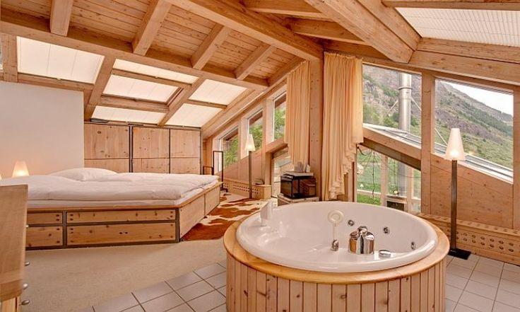 Gallery Of Chambre Coucher Dans Un Chalet Zermatt En Suisse Vacances Jacuzzi  Chambres Coucher Pinterest Suisse Vacances Et Chalet With Hotel Barcelone  Avec ...