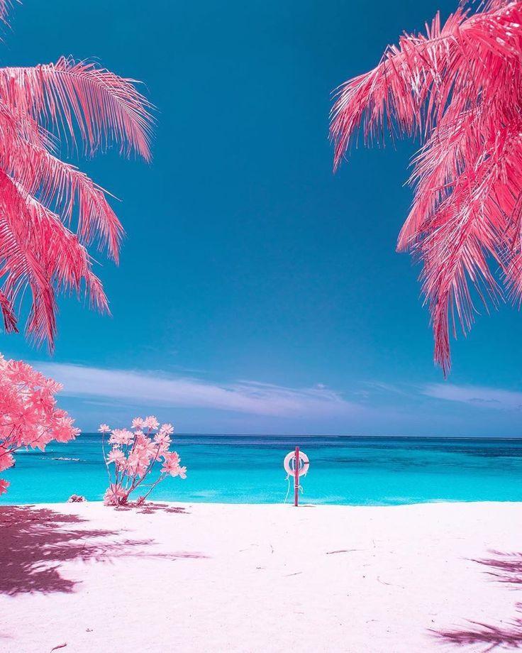 Maldives Beach: Turning The Maldives Into An Infrared Paradise
