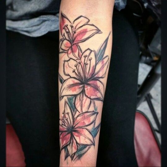 I like this as an arm tattoo, but instead of splotches of color - I think splotches of galaxy would be better.