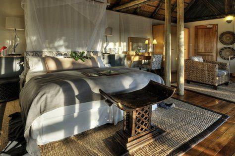 африканская спальня