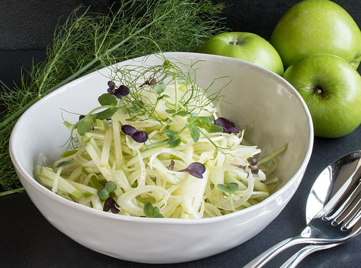 Crunchy Fennel & Apple Salad