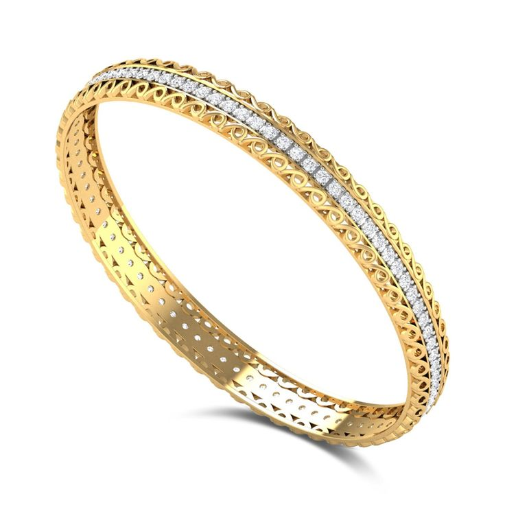 Bandhul Diamond Studded Bangle