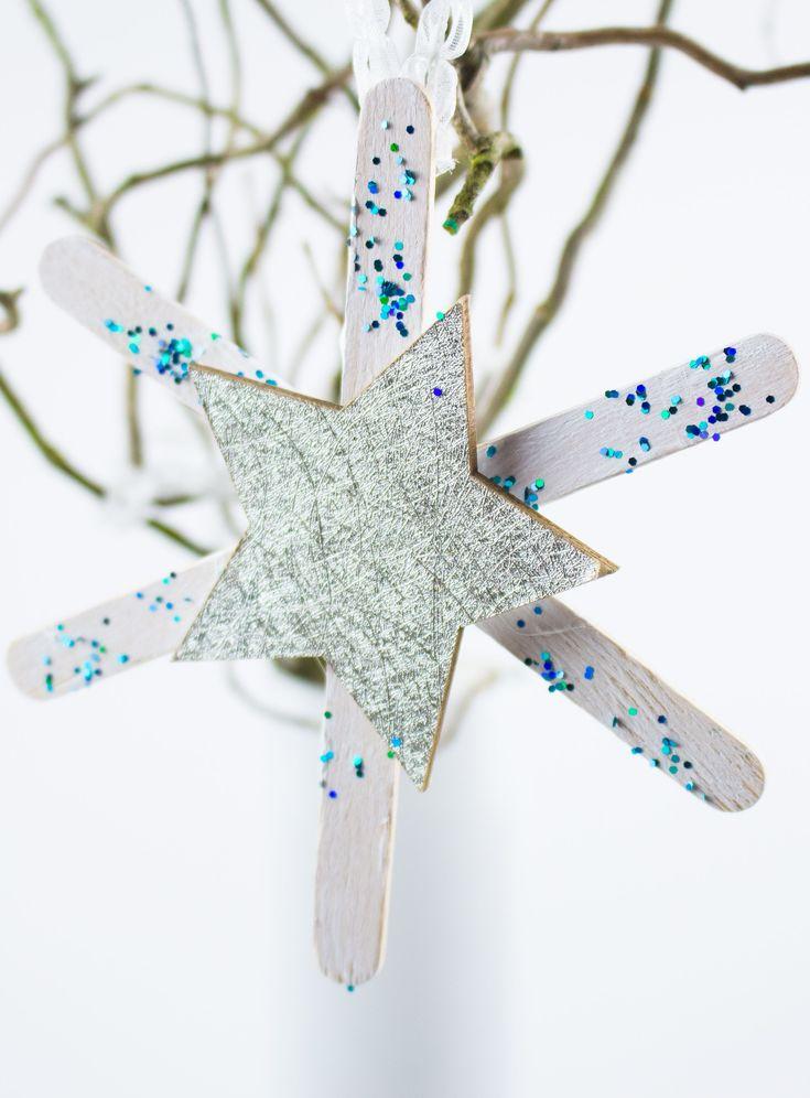 Weihnachtsbaumschmuck basteln: 4 schöne Ideen + Video – ♥ Mama Kreativ ♥  Mamablog – DIY, Basteln, Kochen und Leben mit Kindern