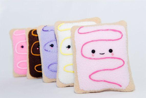 Pop Tart Plushy-Pop Tart Cushion-Squishy-Kawaii-Toy-Pop Tart-Gift-Food Plushy on Etsy, $15.74 CAD