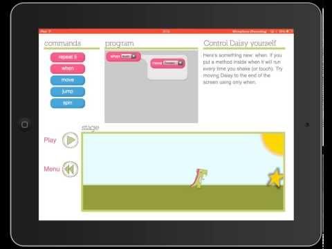 Recension av Daisy the Dinosaur - Kodning för de yngre