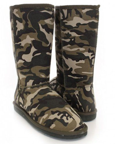 Camo High Heel Shoes and Boots for Women | WebNuggetz.com