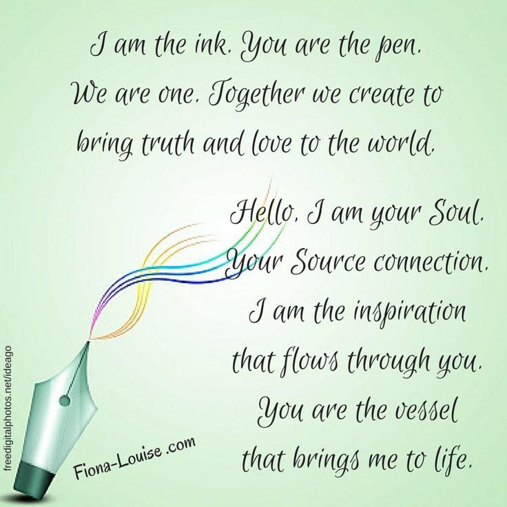 #iam #writer #author #soul #connection #source #quotes #motivational #inspiration #fionalouiseauthor