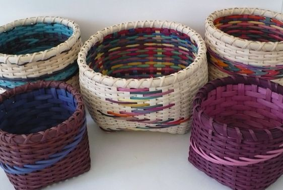 Double Wall Baskets with Peggy McCarson at the John C. Campbell Folk School | folkschool.org