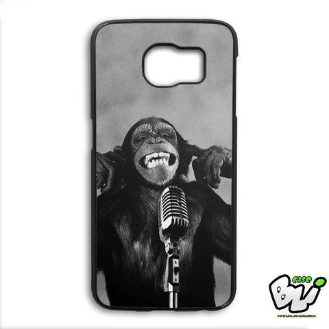 Monkey Kid Singer Samsung Galaxy S6 Edge Case
