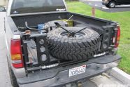 View 1106 4wd 05+easy Spare Tire Carrier+tiregate Kit - Photo 30828599 from The TireGate VT Series Spare Tire Carrier