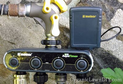 My review of the Melnor WiFi AquaTimer. A 4 zone hose connected sprinkler timer that you can control with a computer or phone over the internet from anywhere.