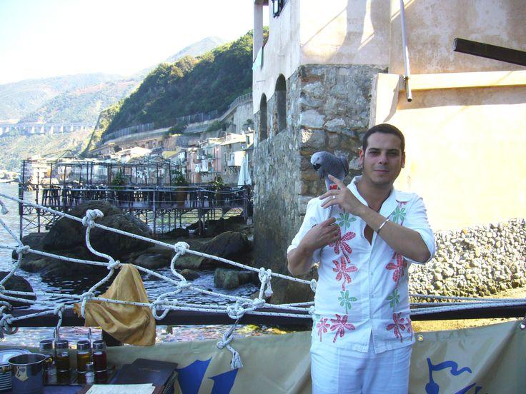 Ristorante Il Pirata UBAIS, pedana sul mare Chianalea di Scilla, (RC) ITALY www.ubais.it