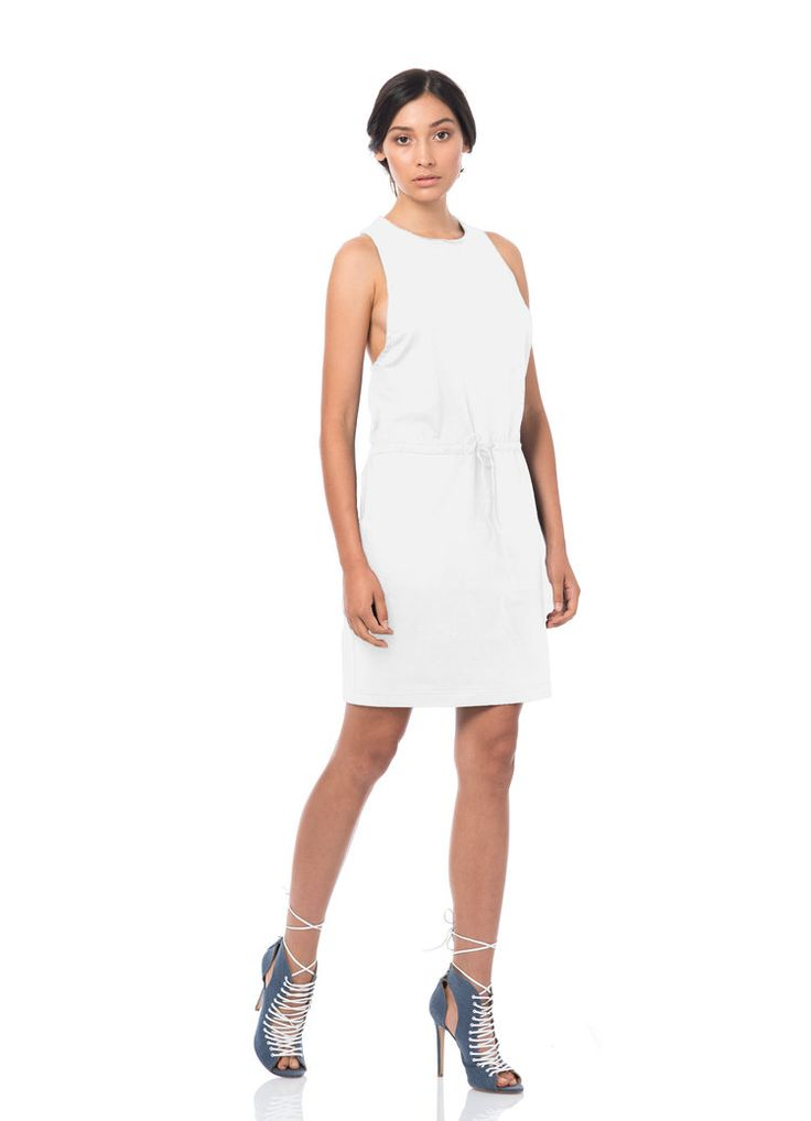 sticks + stone the label - The Voyager Serene Slip Organic Cotton Dress