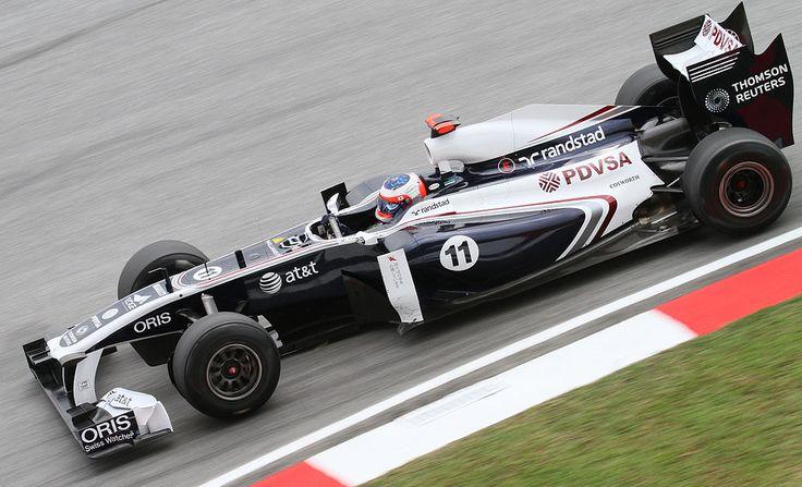 2011 GP Malezji (Rubens Barrichello) Williams FW33 - Cosworth