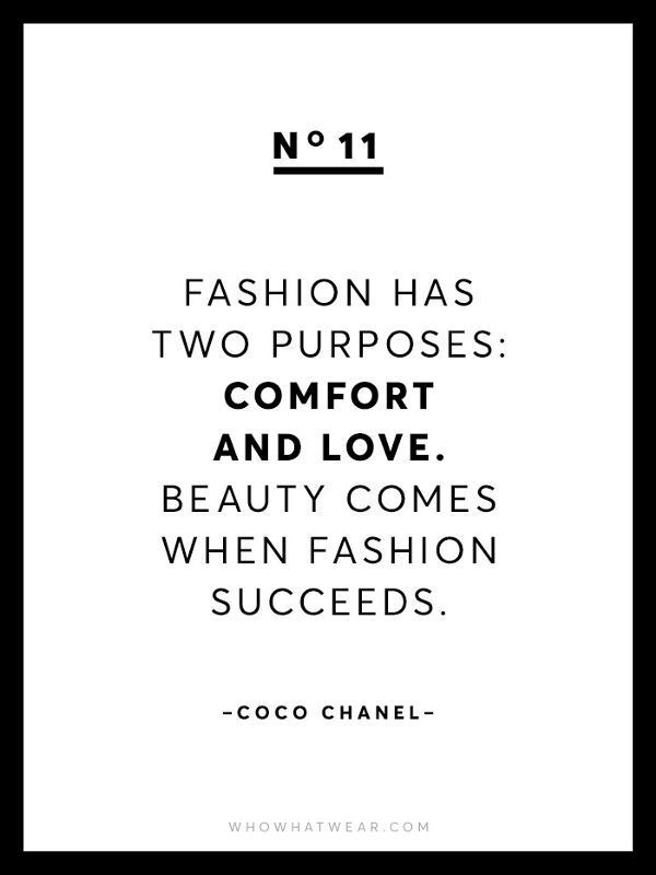 Quotes Fashion Quotes  The purpose of fashion, quotes by