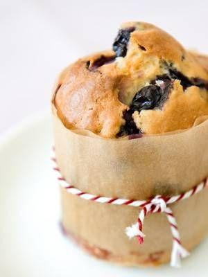 Heerlijke Yoghurtmuffins Met Blauwe Bessen recept | Smulweb.nl