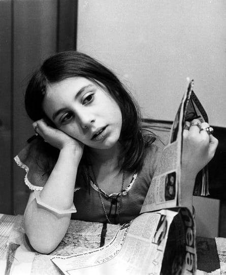 Teenage girl in the 1960s.