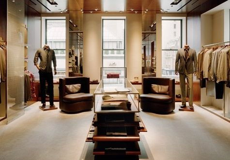 I am designing a menswear store and this is an Idea of what I am going for