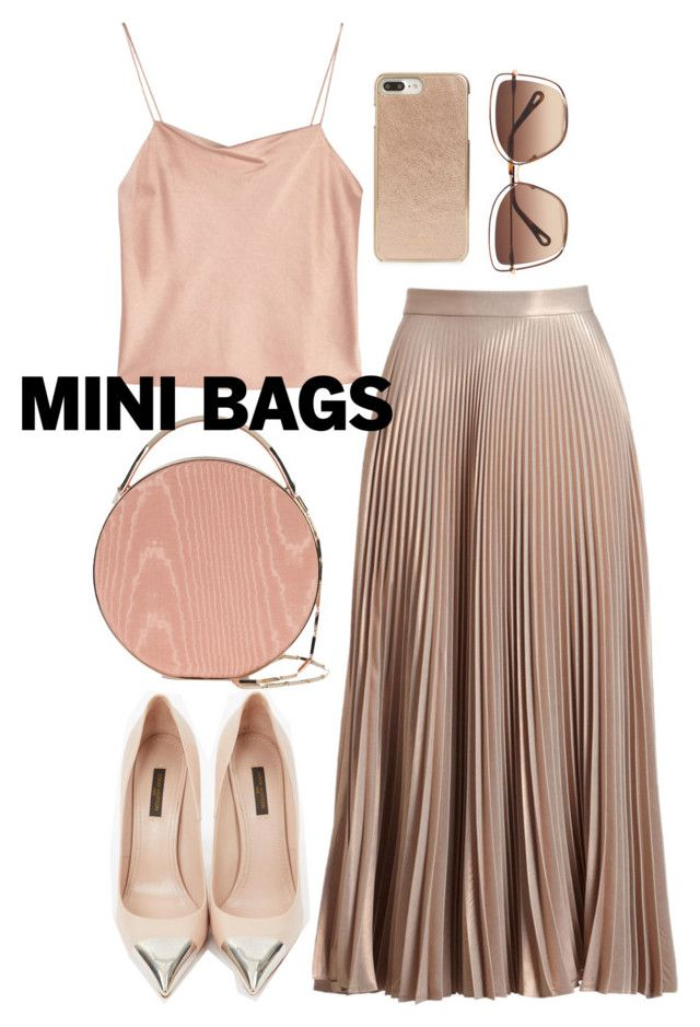 """mini bags"" by bbywolfy ❤ liked on Polyvore featuring A.L.C., Louis Vuitton, Eddie Borgo, Alice + Olivia, Kate Spade and Chloé"