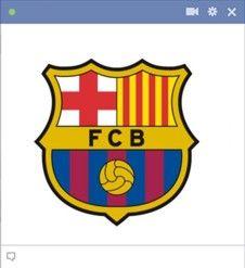 Barca Facebook Emoticon