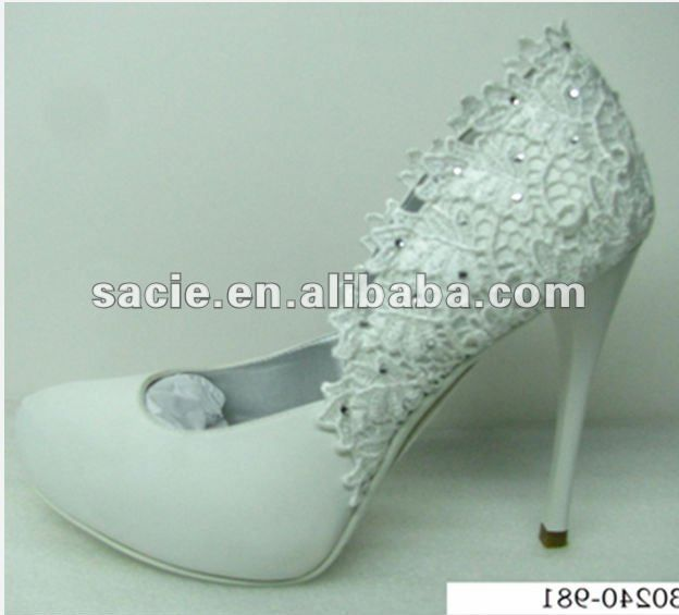 White&Bridal wedding high heel shoes made in china  FOB Price: Get Latest Price Min.Order Quantity: 100 Pair/Pairs Supply Ability: 50000 Pair/Pairs per Month