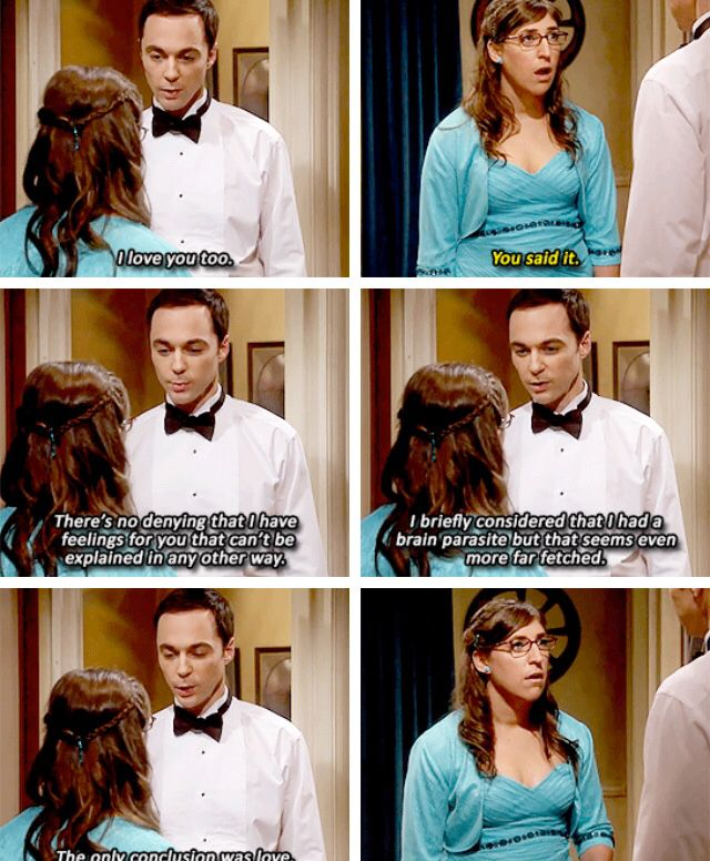 The Big Bang Theory -- the most amazing conversation yet. Sheldon is hilarious. And I'm glad he's coming around