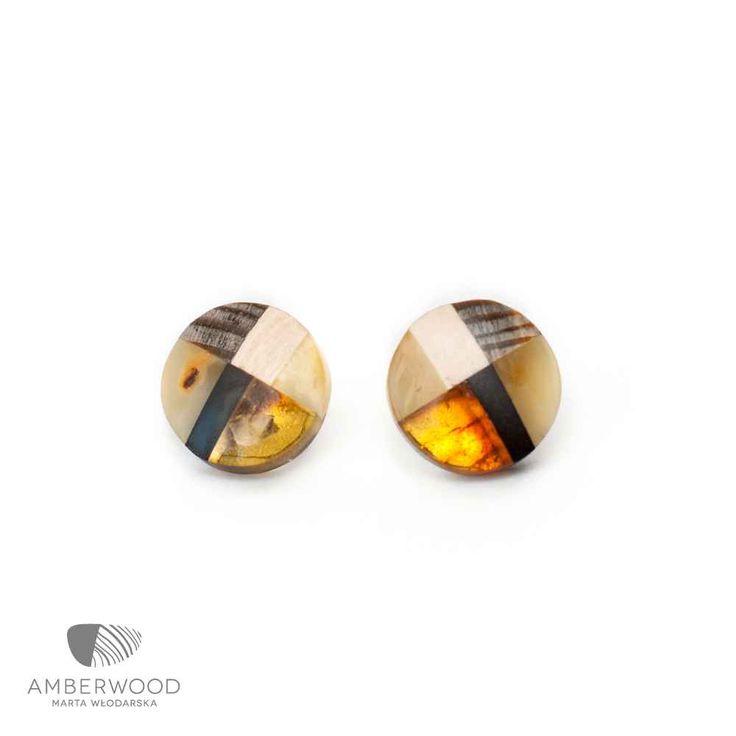 Earrings Amberwood GOLDMO1E
