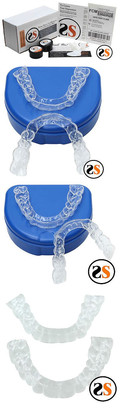 Other Oral Care: Custom Replacement Clear Dental Retainers Upper + Lower BUY IT NOW ONLY: $95.0
