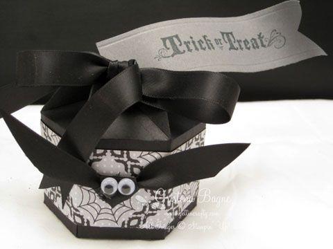 party favortreat box altered milk carton - Halloween Cartons