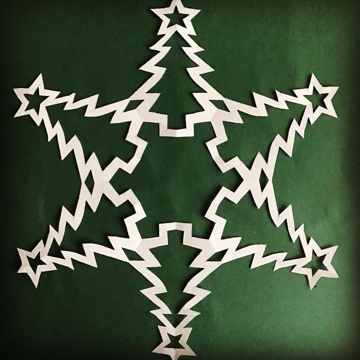 147 best Paper Snowflake Patterns images on Pinterest | Paper snowflake template, Paper ...