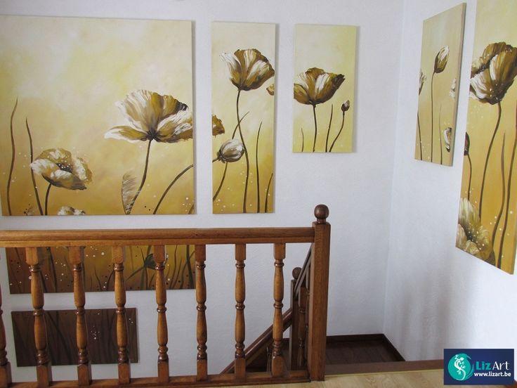 25 beste idee n over groot schilderij op pinterest abstracte kunst groot kunstwerk en grote - Kamer schilderij ideeen ...