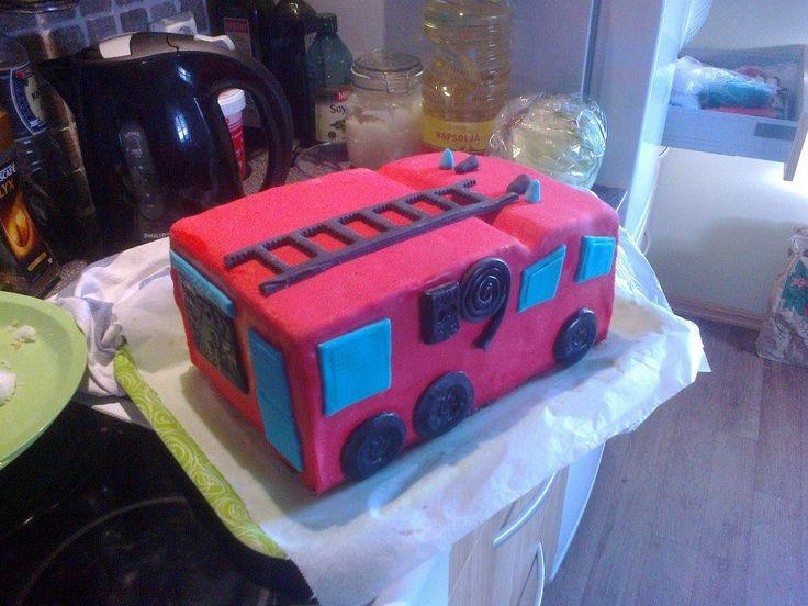 brannbil kake