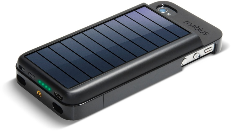 Eton Mobius iPhone Solar Charger.: Iphone 4S, Gadgets, Iphone Chargers, Solar Panels, Iphone Battery, Solar Chargers, Solar Power, Iphone 44S, Solar Iphone