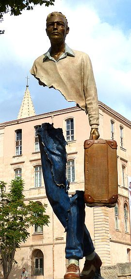 Sculpture by Bruno Catalano Claire Tresse Artist Photographer Gillonnay, France