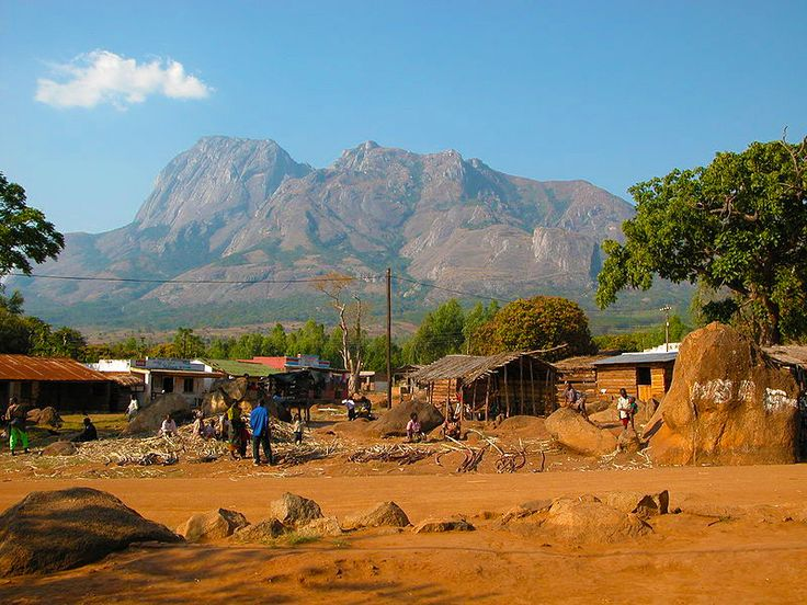 Malawi - Mulanje, I hiked this and swam in a waterfall at the top!