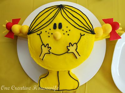 Little Miss Sunshine Party {Part 2 The Food}   |  OneCreativeHousewife.com