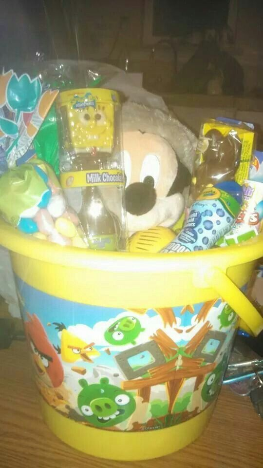 52 best easter images on pinterest easter easter recipes and at easter baskets i made last year for my nephew negle Choice Image