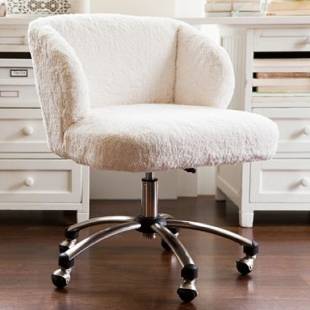 I love this really cute desk chair my dream bedroom for Bedroom table chairs
