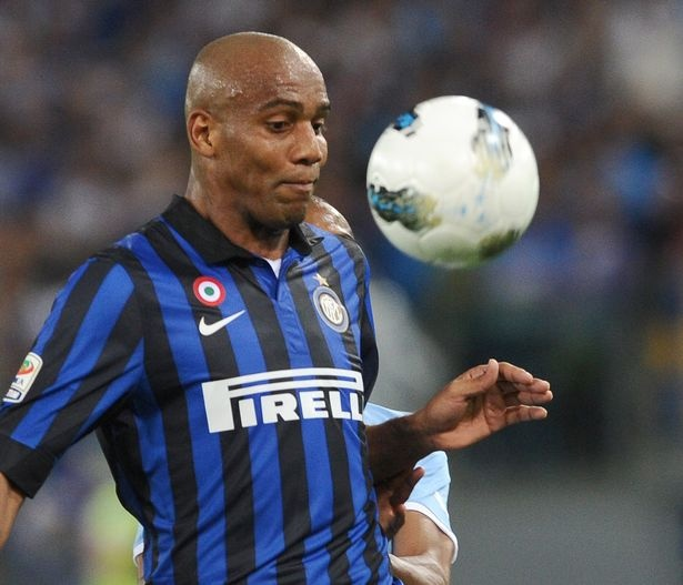 Maicon Douglas Sisenando, commonly known as Maicon, is a Brazilian footballer who plays as a right back for Premier League side Manchester City and the Brazilian national team