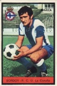 BORDOY (R.C.D. La Coruña - 1972-73)
